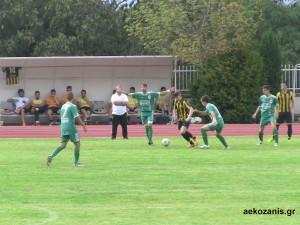 2014-15 2η αγ. Βελβεντό-ΑΕΚ 4-0
