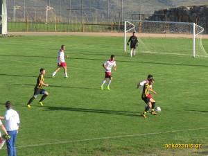 2014-15 4η αγ. Μακεδονικός Σιάτιστας - ΑΕΚ 3-0