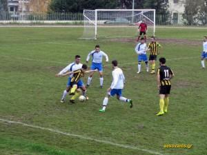 2014-15, 11η αγ. Μακεδονικός Κοζάνης - ΑΕΚ 1-1