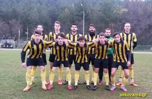2014-15 Κύπελλο 3ος Γύρος, ΑΕΚ-Καραγιάννια 0-3