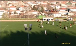 2014-15 13η Περδίκκας-ΑΕΚ 1-4, φάση του 2ου γκολ της ΑΕΚ