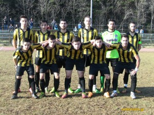 2014-15 17η αγωνιστική, ΑΕΚ-Βελβεντό 1-0