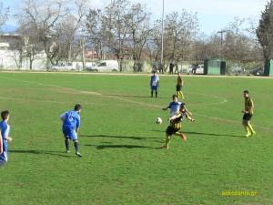 2014-15 26η αγ. ΑΕΚ - Μακεδονικός Κοζάνης 4-1
