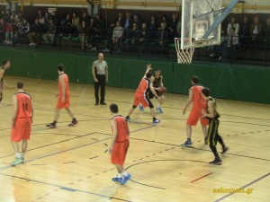2014-15 Playoffs Α' ΕΚΑΣΔΥΜ, ημιτελικά 1ος αγώνας, Λασσάνης - ΑΕΚ 72-61