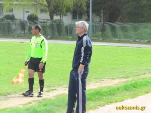 Νίκος Μακριανίδης, προπονητής Παιδικού Α.Ε. Κοζάνης 2014-15