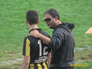2015-16 3η αγ. ΑΕΚ - Μ. Αλέξανδρος Αρδασας 3-1