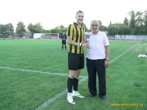 Απονομή 3ης θέσης, Μαντζώλας-Γαβριηλίδης