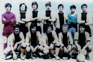 1971-72 Ανεπίσημη ομάδα Άγιαξ Σκρκας