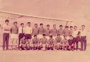 1971-72 Ανεπίσημη ομάδα Καφενείου Αστόρια